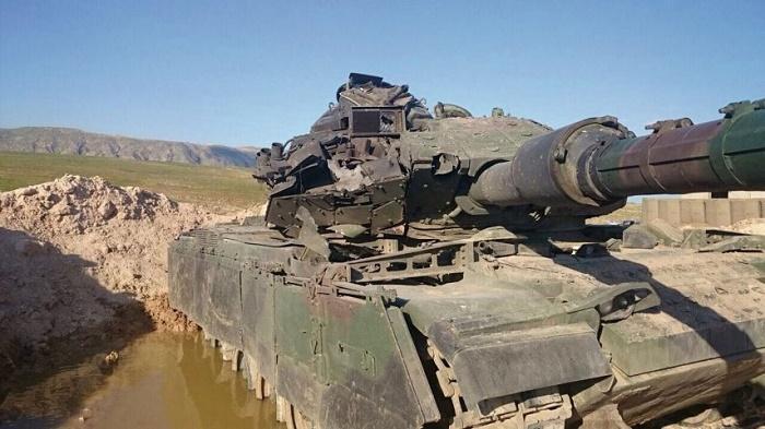 Курды за день подбили пять турецких танков