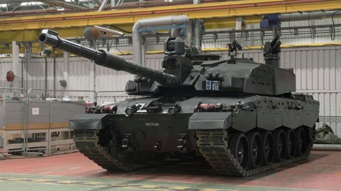 חברת BAE מציגה אב טיפוס של טנק בריטי עם חץ דורבן