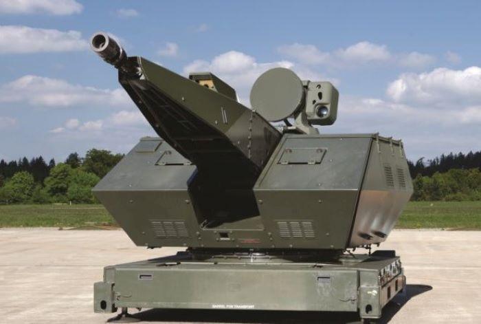 Rheinmetall tests Revolver Gun against drone swarms