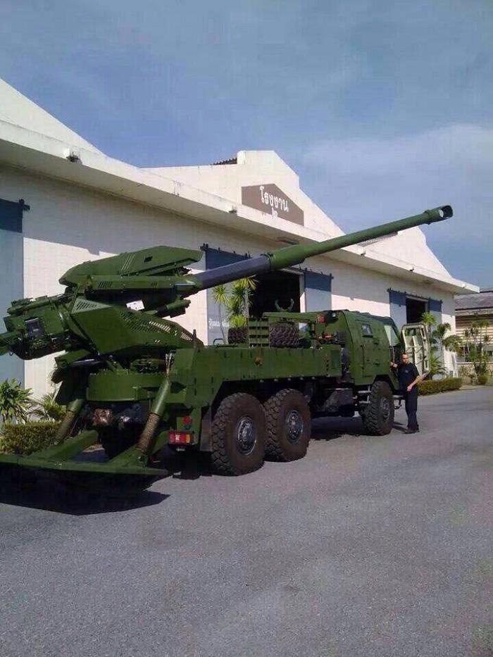 Elbit Systems' ATMOS Arrived to Thailand