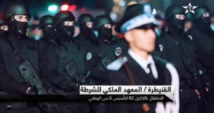 כוחות ביטחון פנים מיוחדים של מרוקו הופיעו עם רובי תבור תוצרת ישראל