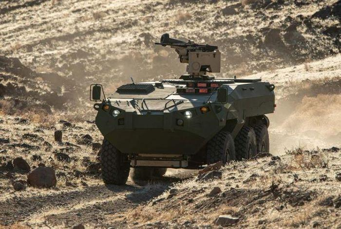 Recon vehicle with Elbit 'IronVision' system shortlisted for US Marine Corps program
