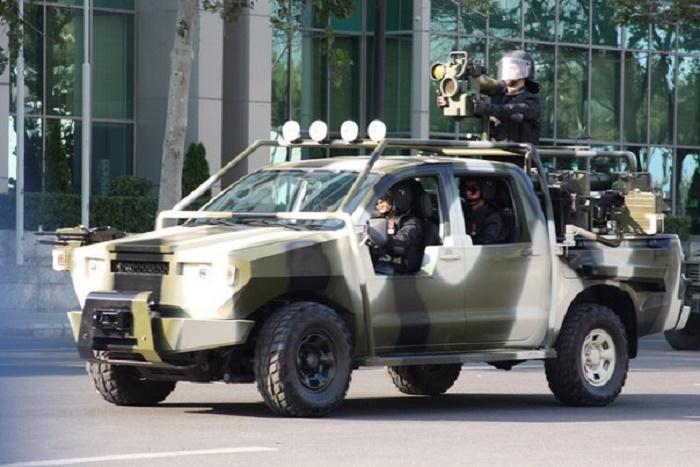 דיווח: טיל הספייק של רפאל באזרבייג'ן נגד טנקים ארמנים