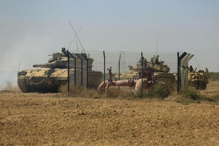 IAF Secures the Upgrading Work along the Gaza Strip Fence