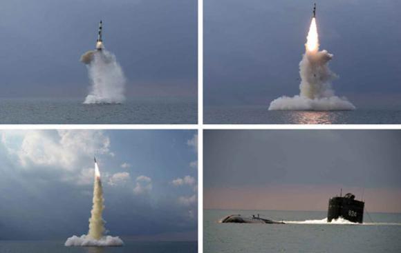 קוריאה הצפונית שיגרה טיל חדש מצוללת