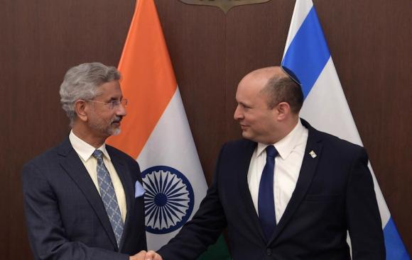 בנט נועד עם שר החוץ של הודו